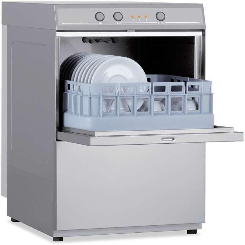 Lavavasos Industrial con Cesta de 35x35cm de 400 x480 x650h mm VERONA CH350