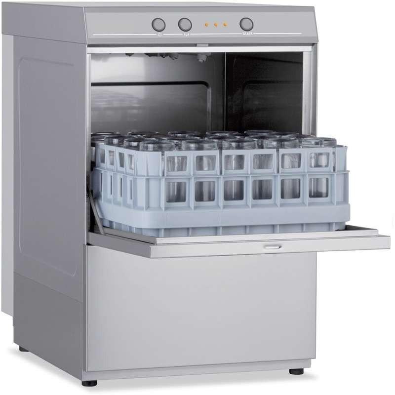 Lavavajillas Industrial con Cesta de 39x39cm de 440 x530 x670h mm VERONA CH400