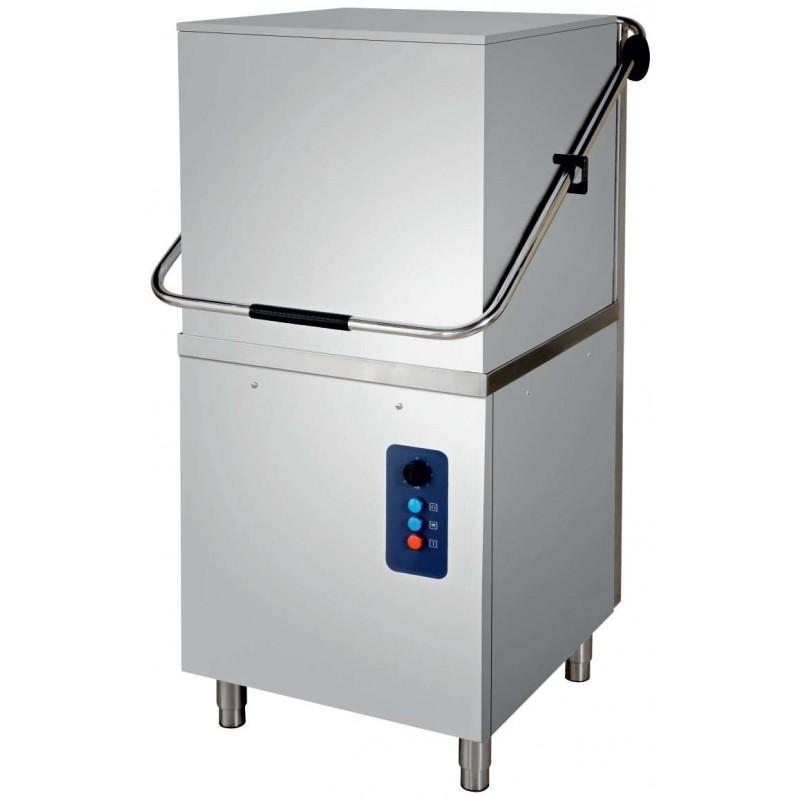 Lavavasos Industrial Tipo Capota con Cesta de 50x50cm de 720 x 830 x 1480h mm ESTAMBUL CH800ECO