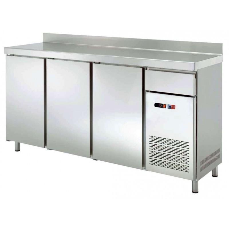Frente Mostrador Refrigerado 4 puerta con TOLVA CAFÉ de 2542 x600 x1045h mm CORDOBA FMCH-250TV