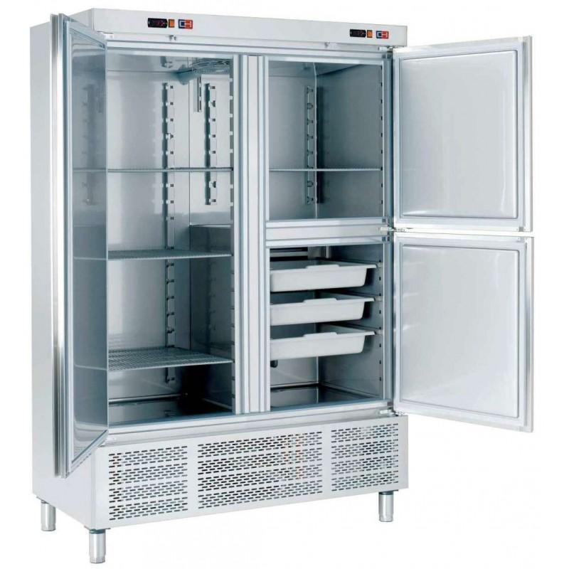 Armario Snack Refrigerado con Departamento de Congelados Fondo 726 de 1388 x726 x2067h mm CORDOBA ARCH-1203-DC