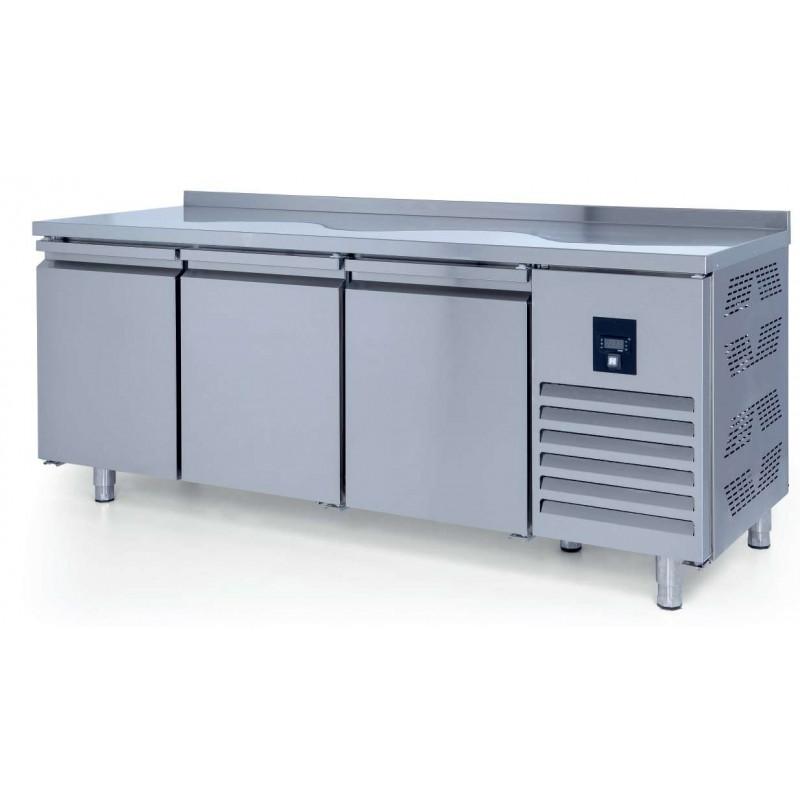 Mesa Refrigerada Snack 3 puertas Fondo 600 de 2000 x600 x850h mm ESTAMBUL