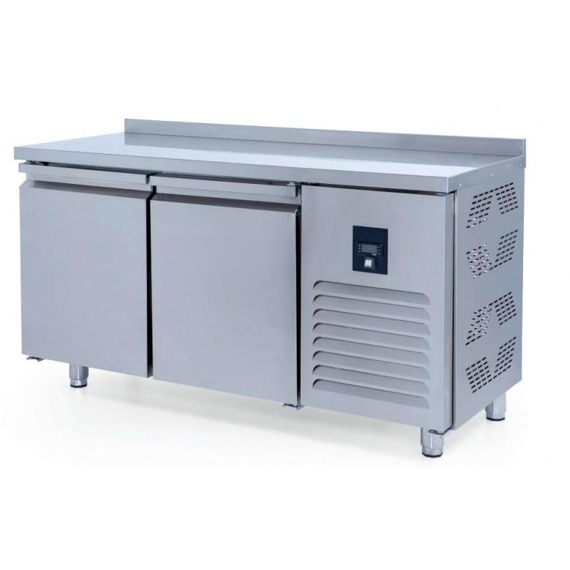 Mesa Congelación Snack 2 puertas Fondo 600 de 1500 x600 x850h mm ESTAMBUL
