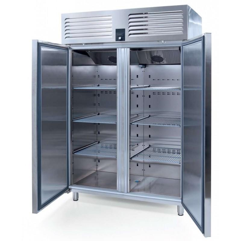 Armario GN2/1 refrigeración 2 puertas CRISTAL 1400x800x2100h mm ESTAMBUL VTS1340CR-VG
