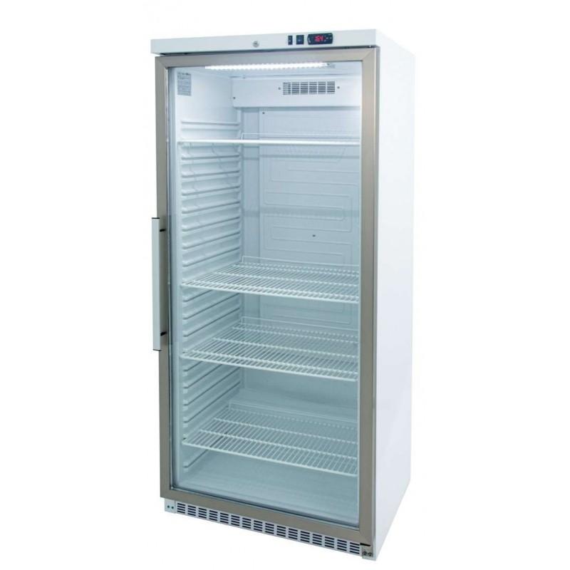 Armario GN2/1 Lacado Blanco 600 litros Puerta de Cristal Refrigerado de 780 x745x1865h mm CORDOBA ARCH-600V