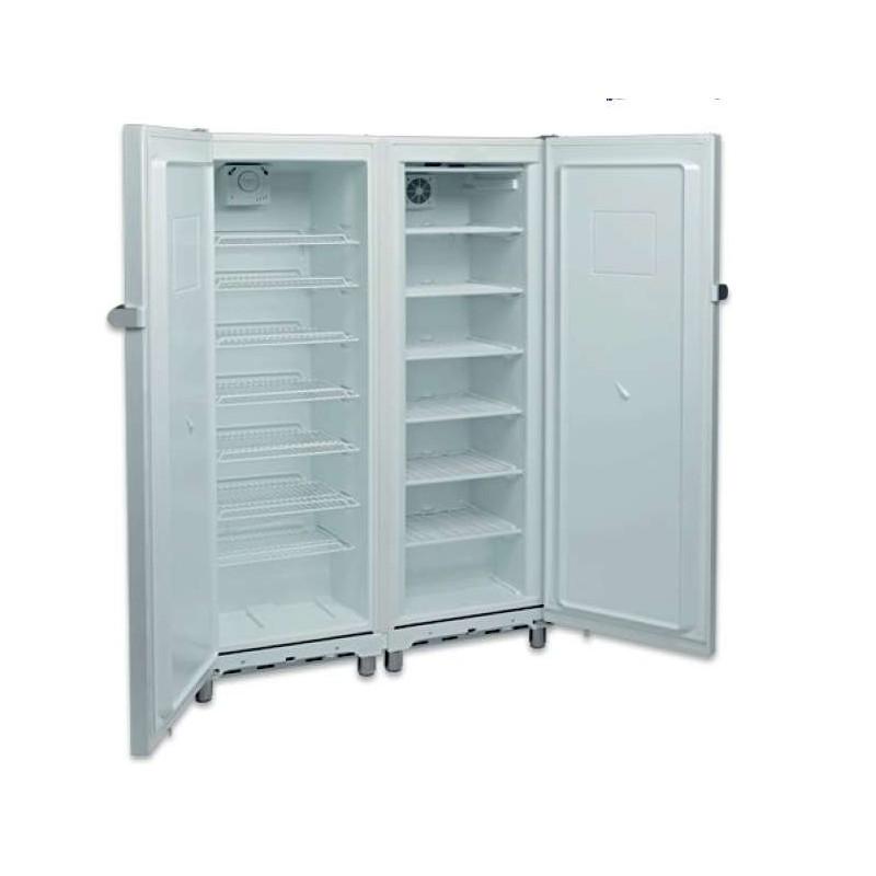 Armario Snack Refrigerados y Congelados 700 litros 2 Puertas Lacado Blanco de 1220 x650 x1820h mm AVEIRO KITCF350PRO