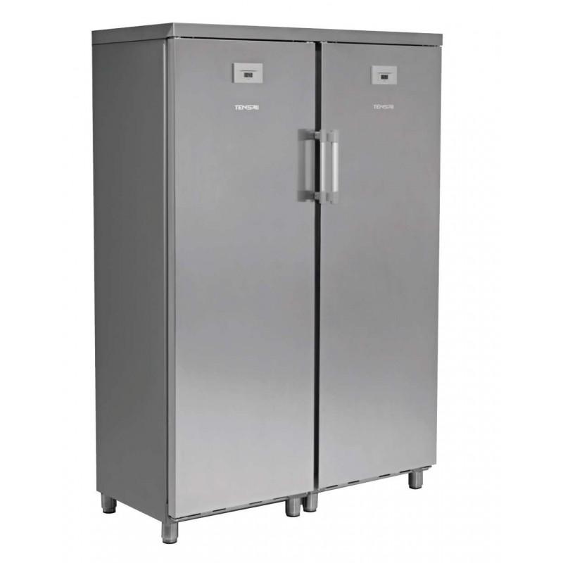Armario Snack Refrigerados y Congelados 700 litros 2 Puertas Inoxidable de 1220 x650 x1820h mm AVEIRO KITCF350PROSS