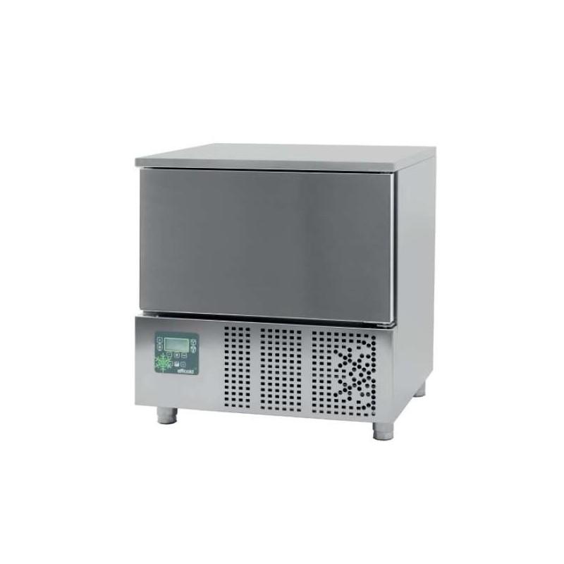 Abatidor de Temperatura Mixto 5 bandejas GN1/1 y 600x400 mm de 790 x700 x850h mm CORDOBA CR-051