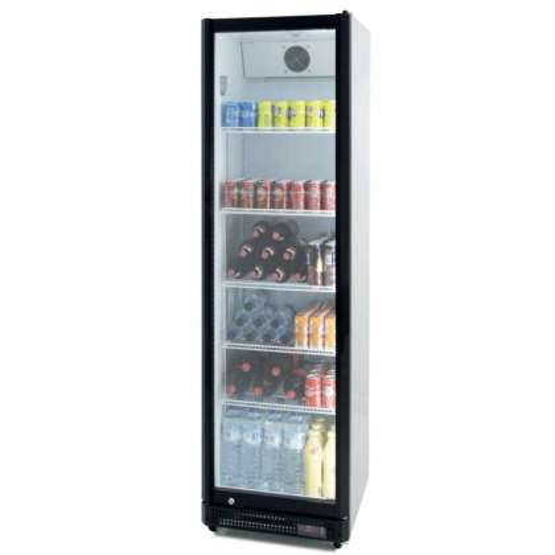 Armario Expositor Refrigerado 410 litros Puerta de Vidrio de 580 x610 x1980h mm PEKIN CS410NS