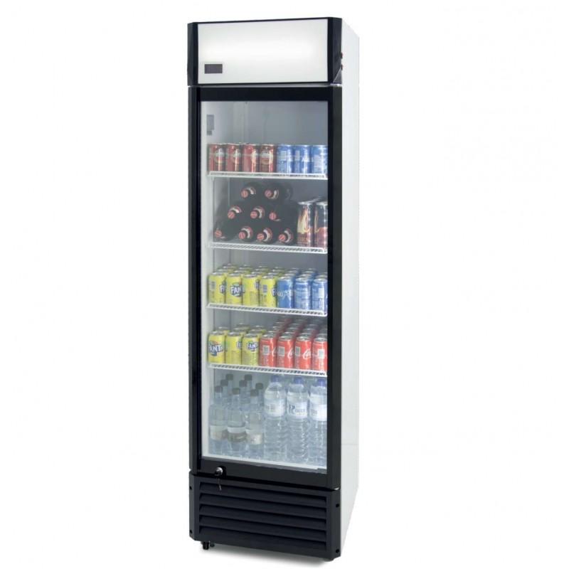 Armario Expositor Refrigerado 360 litros Subcero Puerta de Vidrio de 580 x610 x1980h mm PEKIN SZ360