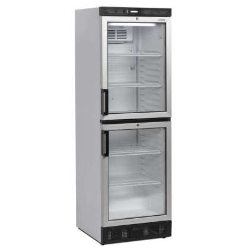 Armario Refrigerado 2 puertas de cristal 595x640x1840h mm Línea VIBORG FS2380-I