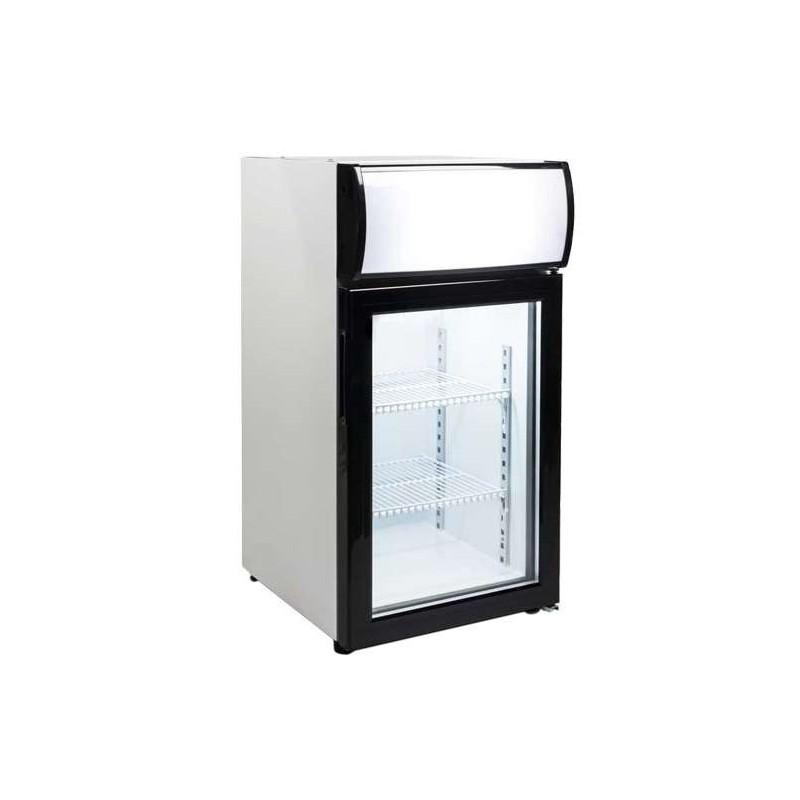 Expositor Sobremesa Congelación 50 litros 1 Puerta de 430 x460 x855h mm PEKIN FT-50L