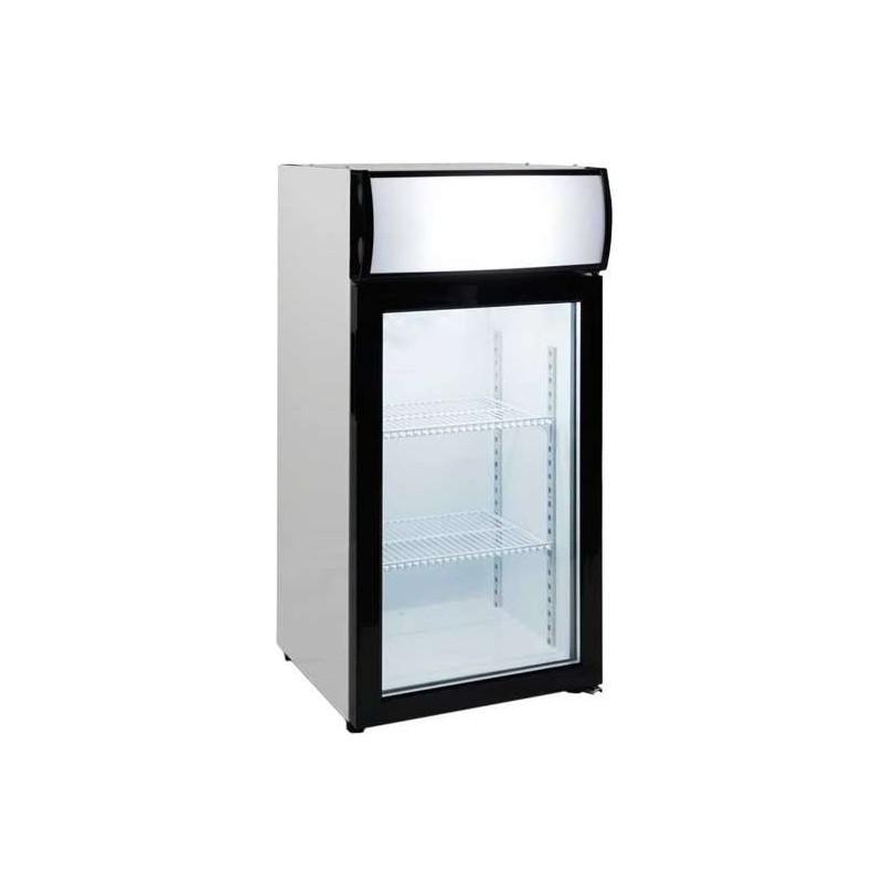 Expositor Sobremesa Congelación 80 litros 1 Puerta de 470 x460 x1000h mm PEKIN FT-80L