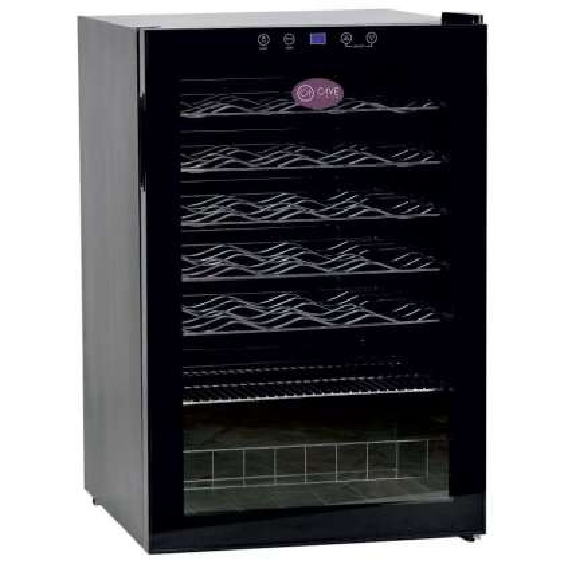 Armario Expositor de Vino 1 Temperatura para 40 botellas PEKIN CV-40
