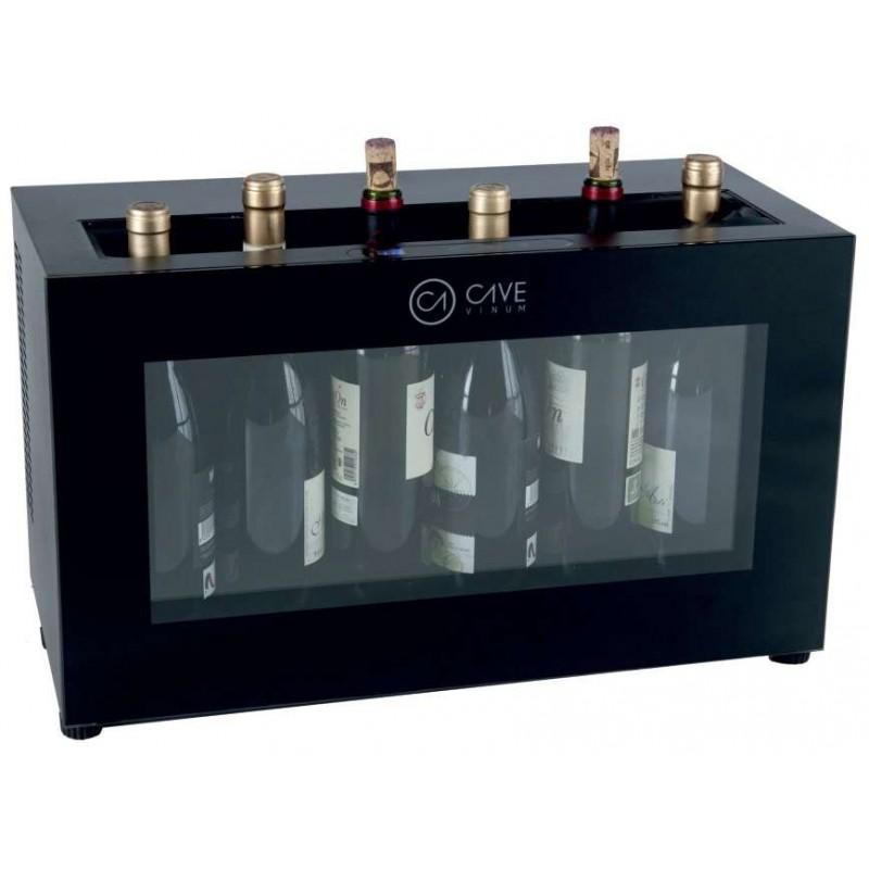 Expositor de Botellas de Vino en Barra Termoeléctrico para 6 botellas PEKIN CV-7