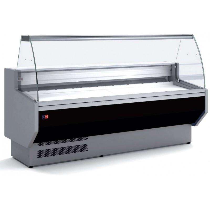 Vitrina Refrigerada Expositora Fondo 800 de 1055 x800 x1235h mm BADAJOZ VEC100