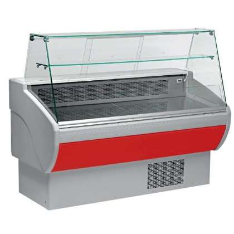 Vitrina Refrigerada Expositora Fondo 800 de 1017 x800 x1260h mm AVEIRO VPL100-R color rojo