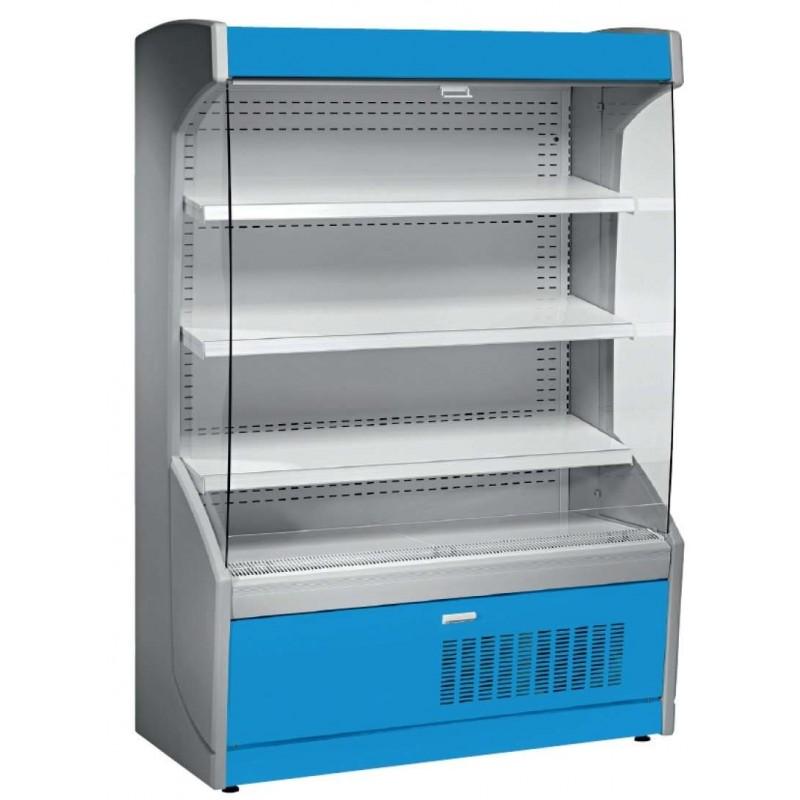 Mural Refrigerado Expositor 4 Estantes Fondo 700 de 1017 x700 x1998h mm AVEIRO MPL100-A azul