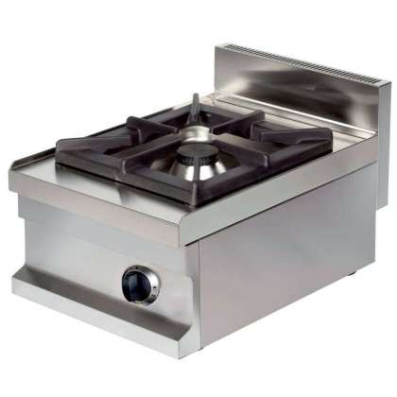 Cocina a gas sobremesa 1 fuego 6kw 400x600x265h mm GS604 Línea Estambul