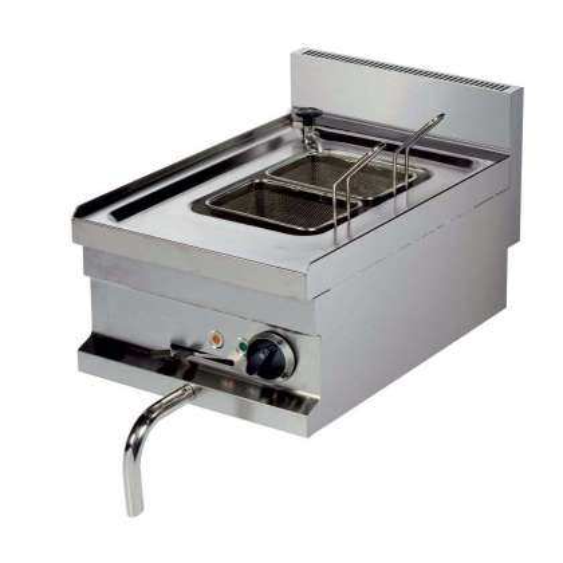 Cocedor de pasta eléctrico sobremesa 14 litros 3 kw 400x600x265h mm EMH604 Línea Estambul