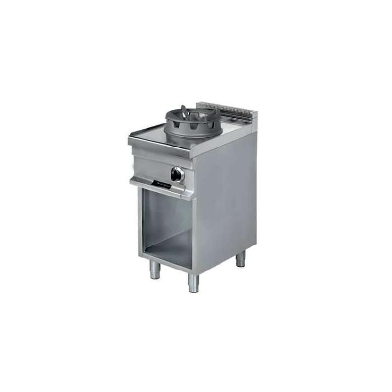 Cocina Wok a gas 1 fuego 16 kw 425x900x900h mm WR911 Línea Estambul