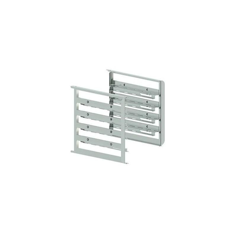 Kit de soportes laterales bivalentes capacidad 4 bandejas GN1/1-600X400 mm MILLENNIAL MKSBX416 Línea Padova