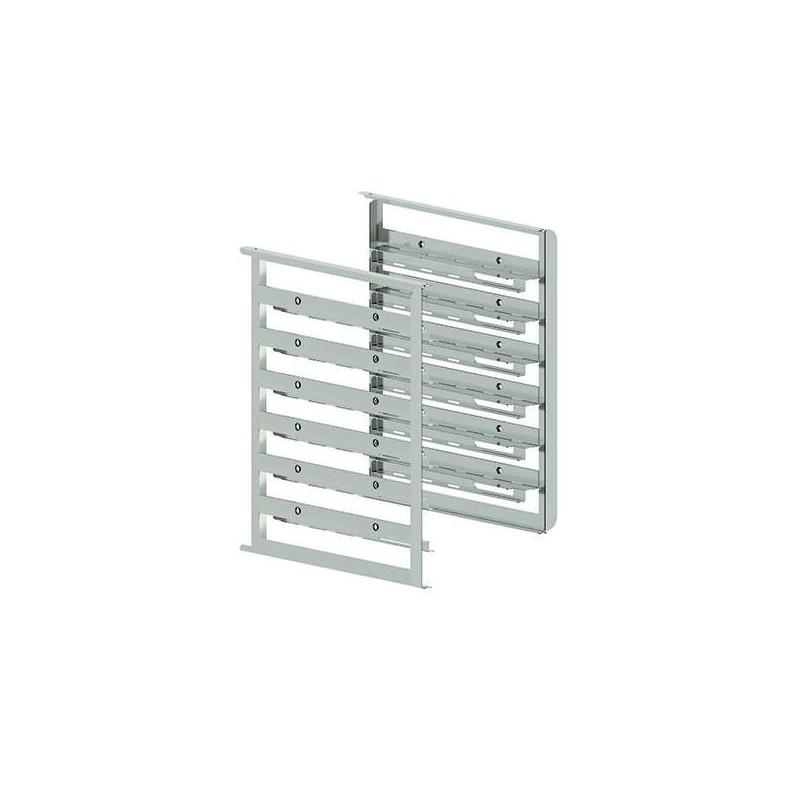 Kit de soportes laterales bivalentes capacidad 6 bandejas GN1/1-600X400 mm MILLENNIAL MKSBX616 Línea Padova