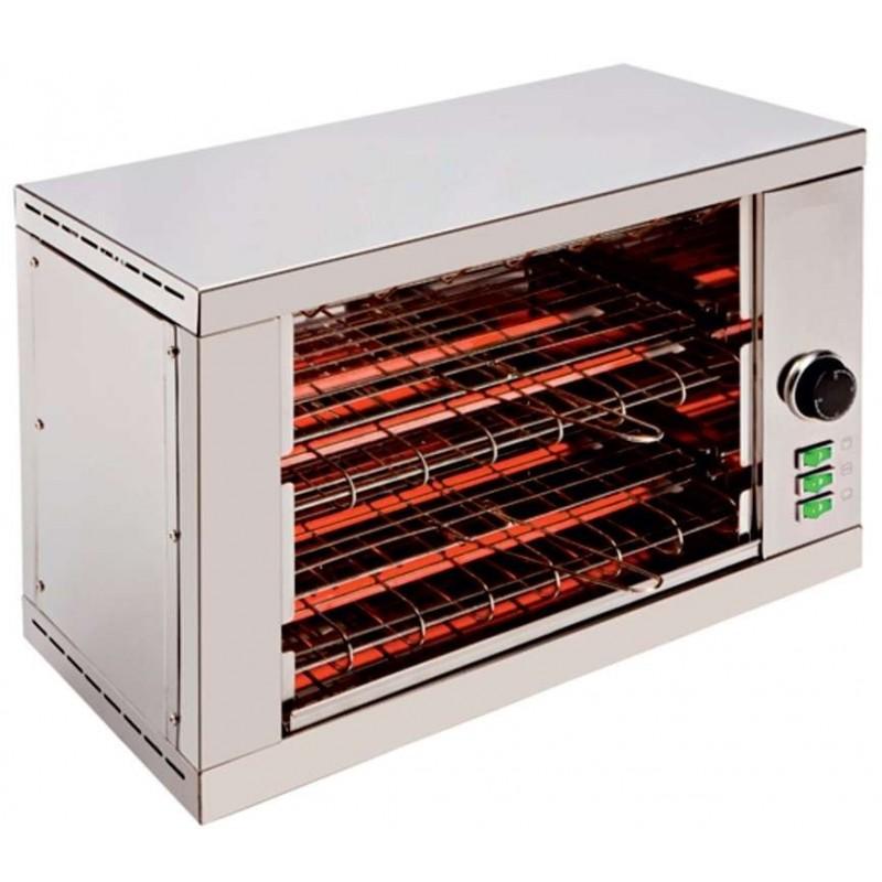 Tostador 2 pisos resistencias de cuarzo con temporizador 3000W TD2T