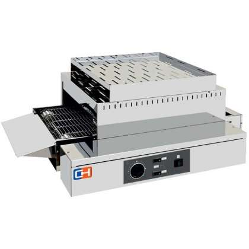 Tostador Horizontal de cinta 3000W Especial Buffet 750x435x260h mm TCH210