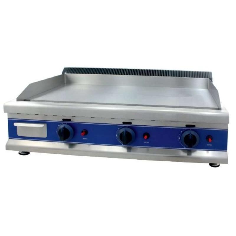 Frytops a Gas Acero Rectificado 12 mm de 950 x610 x340h mm PEKIN ICG950