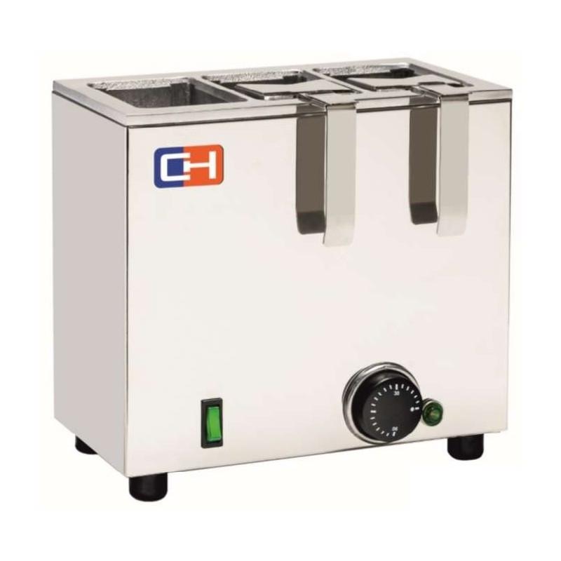 Calentador de Leche en Tetrabrik de 1050W con medidas 275x250x150h mm CBRIK3