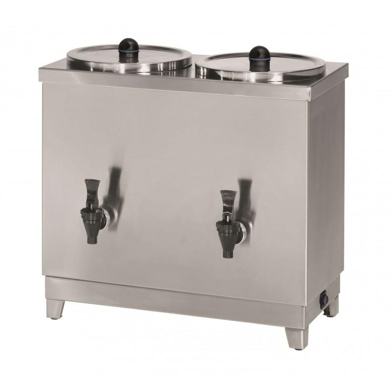 Termo de Leche 12 litros potencia de 1500+1500W con medidas 525x265x525h mm T12L