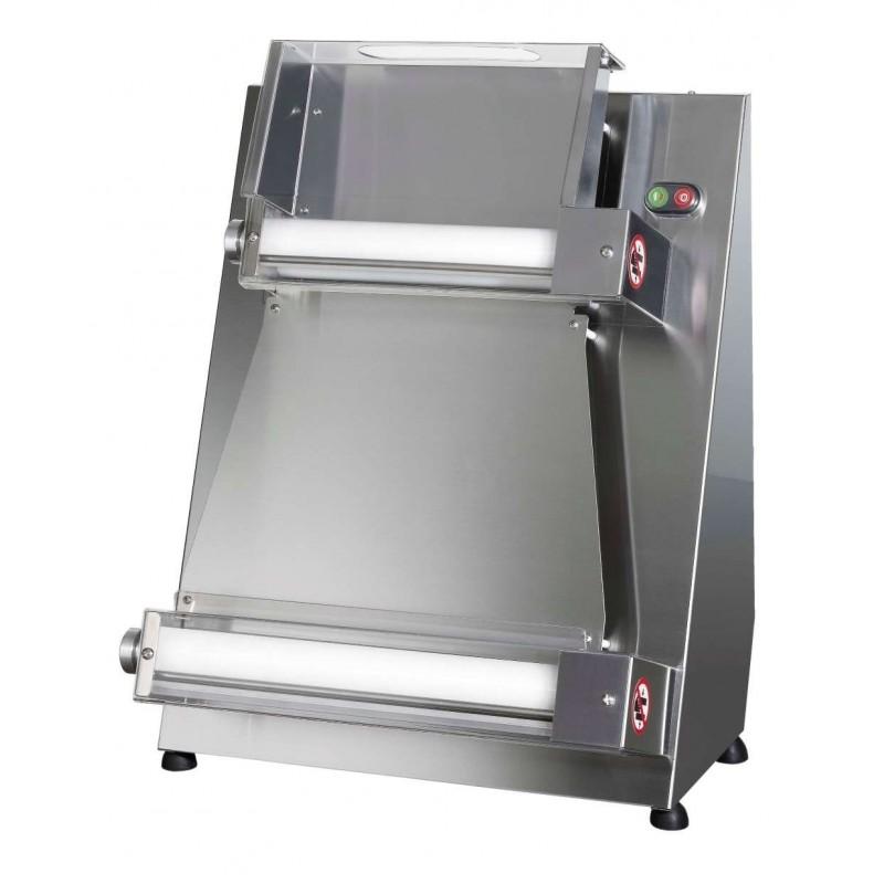 Laminadora Formadora de Pizza 26 a 40 cm rodillos paralelos TREVISO S42RP