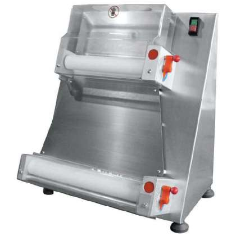 Laminadora Formadora de Pizzas Diámetro 400 mm de 530 x530 x650h mm PEKIN APD40