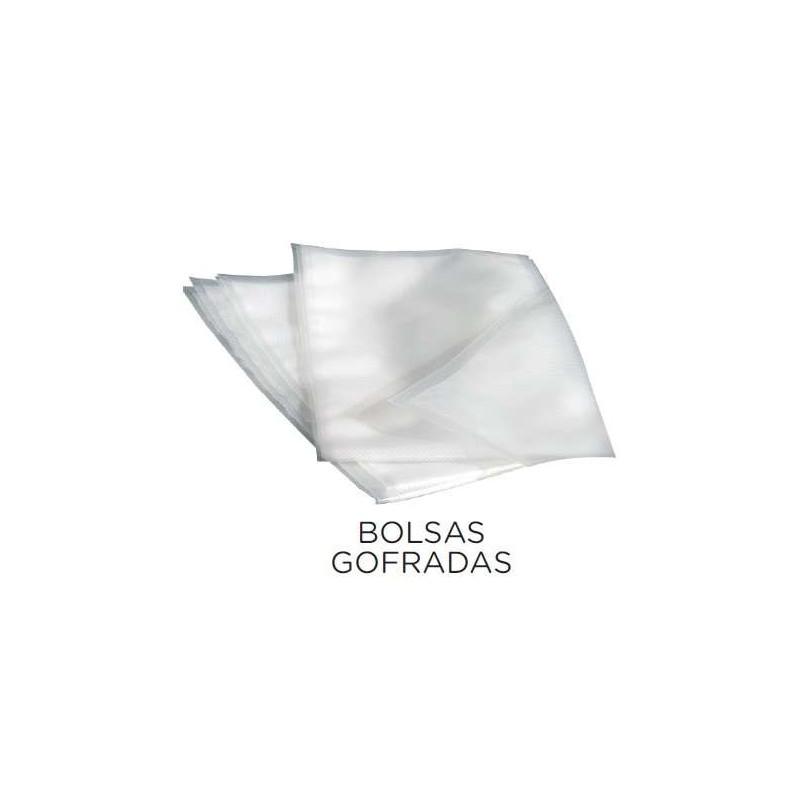 Paquete 100 uds Bolsas de Vacío Grofradas para Envasadoras Domésticas o Aspiración Externa de 250x350 VALENCIA VACIO36