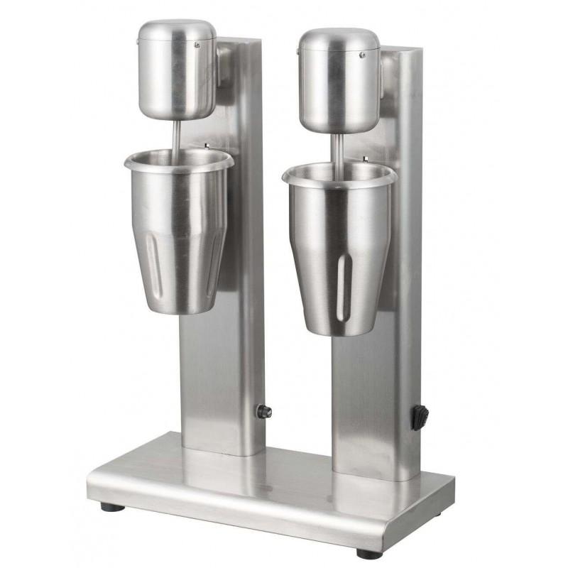 Batidora de Helados y Bebidas Doble 1 + 1 litros de 350 x170 x520h mm IBL-055