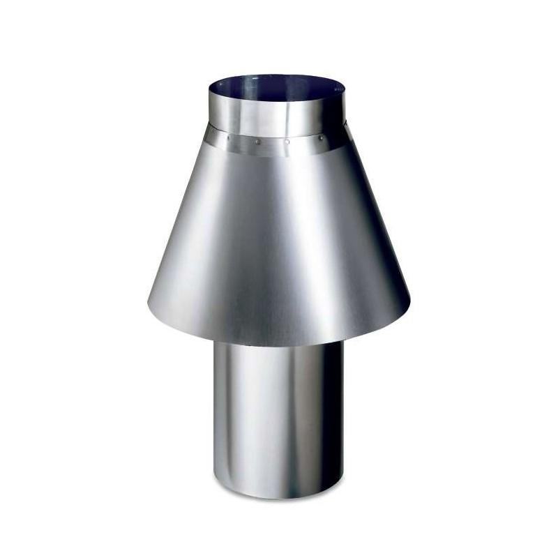 Chimenea antiviento diámetro 150 mm CHIMENEAG1