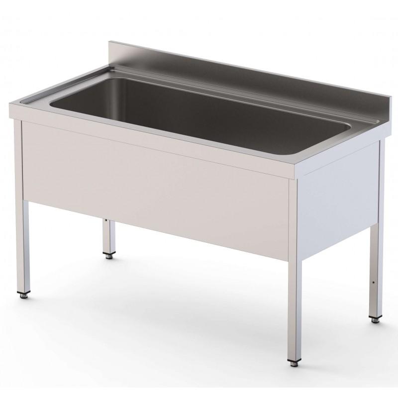 Fregadero Gran Capacidad 1 Cuba Fondo 700 Con Mueble Sin Estante 1000x700x400h mm IS1710C1HCS0