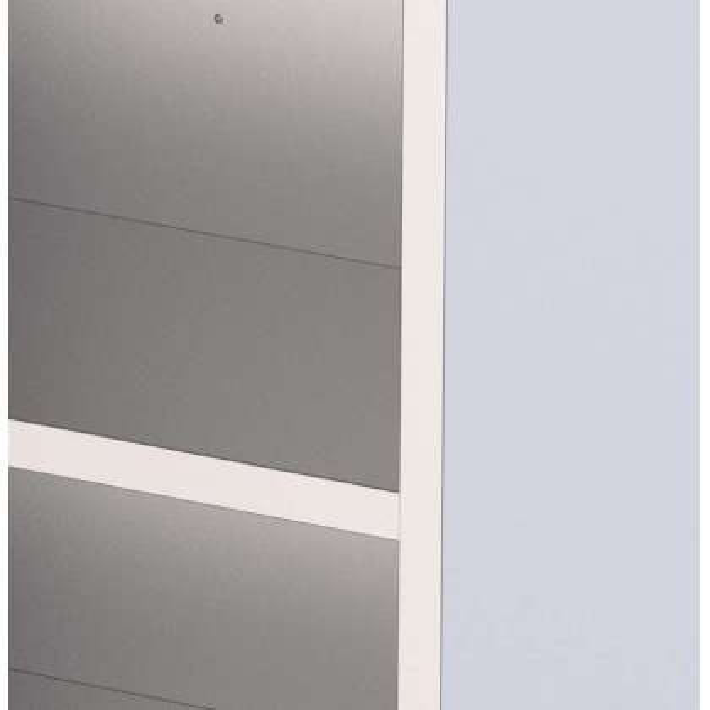 Estante Adicional Acero Inoxidable Para Armario de Pie 1000x600 mm FC1060200SAS