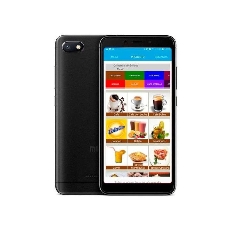 Smartphone táctil con sistema Android, 16Gb almacenaje y 2Gb memoria interna