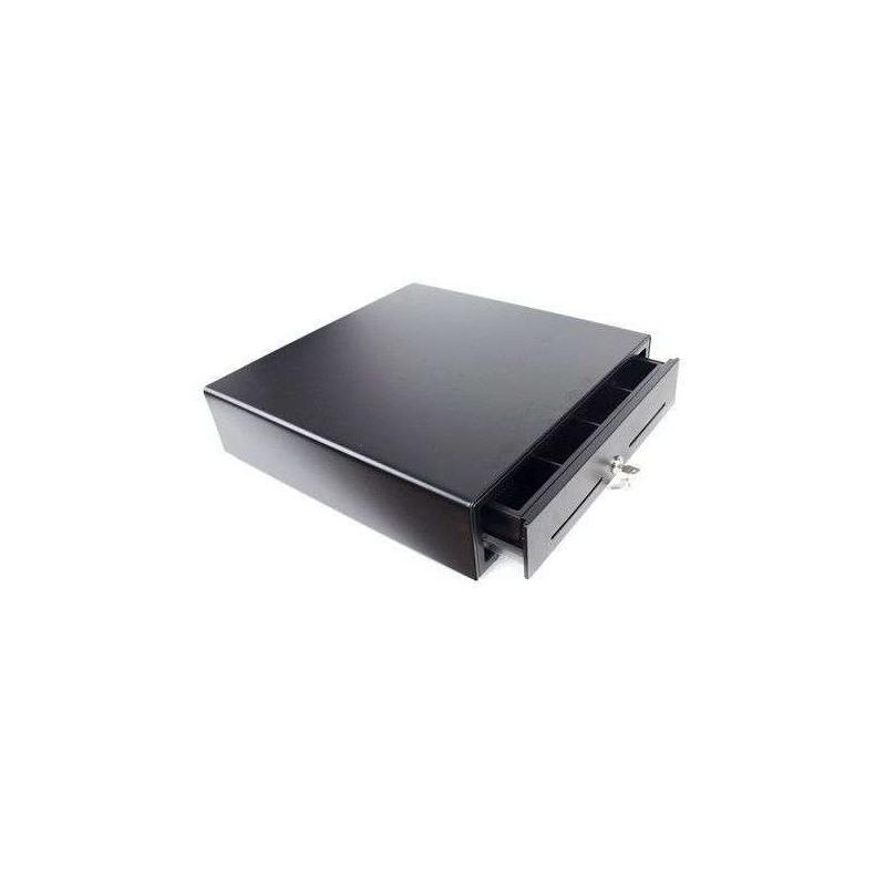 Cajón portamonedas automático 41x41 cm. Negro