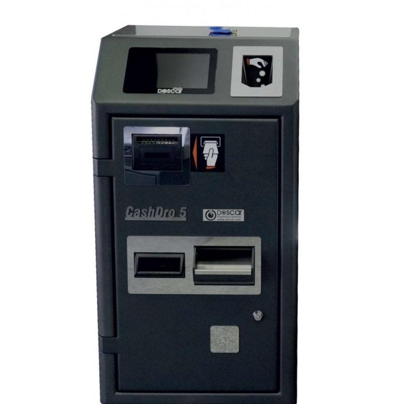 Máquina de Cobro Seguro - Cajón Inteligente CASHDRO5 dim.420x490x800h mm validación de billetes 2 seg. / billete